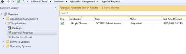 Using Application Catalog in SCCM 2012
