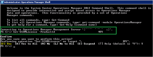 On Completion Restart The Operations Manager 2012 Server For The Key
